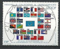 "Nle-Caledonie YT 544 "" Commission "" 1987 Neuf** - Nieuw-Caledonië"