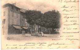 LAGNIEU ... LA PLACE D ARMES - France