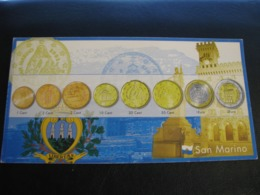 Germany Unused Postcard Clean Image Of Euro Coin San Marino - Coins (pictures)