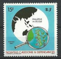 "Nle-Caledonie YT 545 "" Philatélie "" 1987 Neuf** - Nieuw-Caledonië"