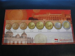Germany Unused Postcard Clean Image Of Euro Coin Monaco - Coins (pictures)
