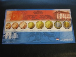 Germany Unused Postcard Clean Image Of Euro Coin Luxembourg - Coins (pictures)
