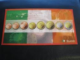Germany Unused Postcard Clean Image Of Euro Coin Ireland - Coins (pictures)