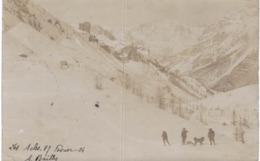 NEVACHE .... LES ACLES ... FEVRIER 1904 ... CARTE PHOTO - Zonder Classificatie