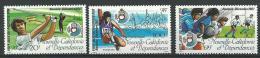 """Nle-Caledonie YT 546 à 548 """" Jeux Du Pacifique """" 1987 Neuf** - Nieuw-Caledonië"""