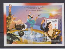 Saint-Vincent, Jeux Olympiques Albertville 1992, Patinage Artistique, Kristi Yamaguchi - Figure Skating