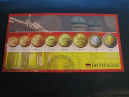 Germany Unused Postcard Clean Image Of Euro Coin Germany - Coins (pictures)