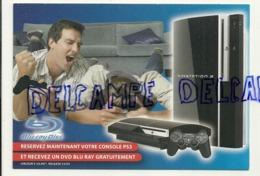 Publicité Pour La Console PS3. Carte Boomerang - Publicité
