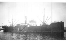 """Photo Récente Bateau """" Saumur """" Delmas Et Vieljeux 1919.29 Chemin De Fer Construit Alloa Saisi Italie 42 """"Valentino"""" - Reproducciones"""