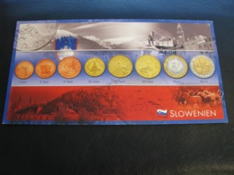 Germany Unused Postcard Clean Image Of Euro Coin Slovenia - Coins (pictures)
