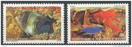 "Nle-Caledonie YT 551 & 552 "" Aquarium De Nouméa "" 1988 Neuf** - Nieuw-Caledonië"