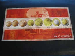 Germany Unused Postcard Clean Image Of Euro Coin Austria - Coins (pictures)