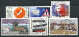 Germany Bund 2000 Mi. 2124-2129 Used 100% Logo, Trade, Bach, Zeppelin - [7] West-Duitsland