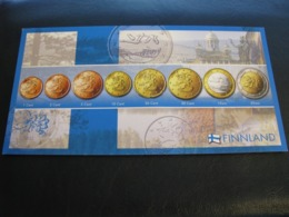 Germany Unused Postcard Clean Image Of Euro Coin Finland - Coins (pictures)