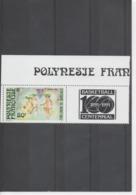 POLYNESIE Française - 100 Ans Du Basket-ball : Scène De Match Au Début Du Siècle - Polynésie Française