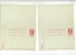 2 Carte Poste 10 Roi Avec Reponse - Postcards [1934-51]