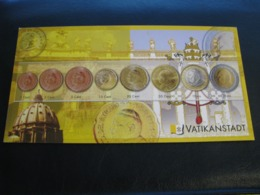 Germany Unused Postcard Clean Image Of Euro Coin Vatican - Coins (pictures)