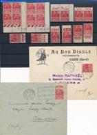 DB-352: FRANCE: Lot Avec N°272**/* (coins Datés** + 2 Enveloppes + Pub) - France