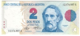 ARGENTINA2PESO1992P340UNCSeries A VicePreseidente 340A.CV. - Argentina
