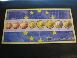 Germany Unused Postcard Clean Image Of Euro Coin European Union - Coins (pictures)