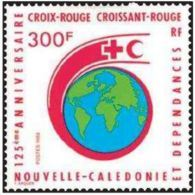 "Nle-Caledonie YT 555 "" Croix Et Croissant-rouge "" 1988 Neuf** - Nieuw-Caledonië"