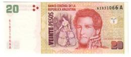 ARGENTINA20PESO1997P349UNC.CV. - Argentina