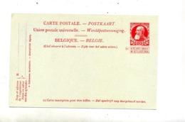 Carte Postale 10 Roi  + Portrait Bleu Au Dos - Stamped Stationery