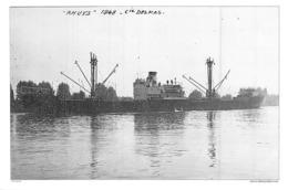 """Photo Récente Bateau """" Rhuys """" Delmas 1949 Brest - Reproducciones"""