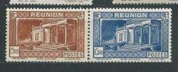 REUNION N° 141/42  ** TB - Unused Stamps