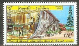 "Nle-Caledonie YT 558 "" Musée De Bourail "" 1988 Neuf** - Nieuw-Caledonië"
