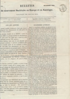"""AMBULANT """" QUIEVRAIN A PARIS C 21/12/58 """" Sur Journal Du """" Mouvement Sociétaire En Europe Et Amérique - Marcophilie (Lettres)"""