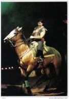Carte Postale Cirque Darix Togny  Davio Togny Le Cavalier Trés Beau Plan - Cirque