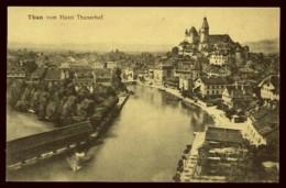 CPA SUISSE THUN VOM HOTEL THUNERHOF  A LA REINE DES CARTES POSTALES INTERLAKEN - BE Berne