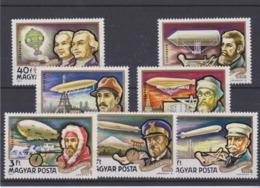 Hongrie, Celebrites De L'Aerostation, Montgolfières, Dirigeables, Zeppelins, Explorateurs - Zeppelins