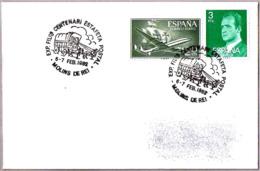 CENTENARIO ESTAFETA POSTAL. Diligencia Postal - Mail Stagecoach. Molins De Rei 1982 - Correo Postal