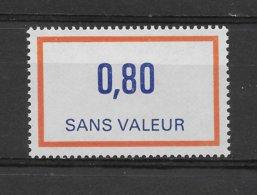 Fictif N° 234 De 1982 ** TTBE - Cote Y&T 2019 De 1 € - Phantomausgaben