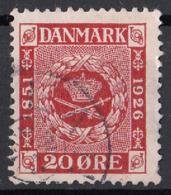 Danimarca 1926 Sc. 179 Royal Emblems Used Danmark - 1913-47 (Christian X)