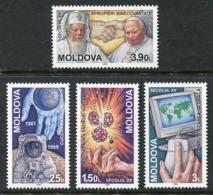 MOLDOVA 2000 20th Century Events  MNH / **.  Michel 357-60 - Moldawien (Moldau)
