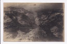 CARTE PHOTO ESPAGNE MONTAGNE DE AGNA LUMPIA Vue Des Pyrenées Prise En Avion - Espagne
