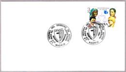 Matasellos LA DEFENSA DEL DERECHO DE AUTOR - Defense Of Copyright. Madrid 1982 - 1931-Hoy: 2ª República - ... Juan Carlos I