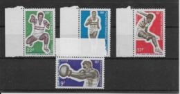 Polynésie N°66/69 - Timbres Neufs ** Sans Charnière - TB - Polynésie Française