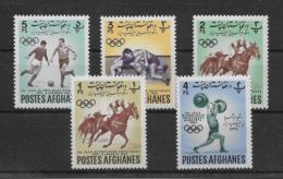 Afghanistan N°660/664 - Timbres Neufs ** Sans Charnière - TB - Afganistán