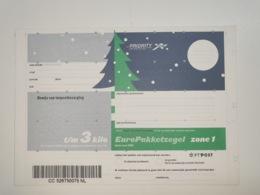 Netherlands EuroPakketzegel December 1998 Upto 3 Kg Not Used  Euro Pakketzegel - Postal Stationery