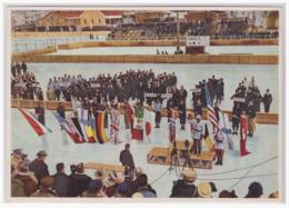 DT- Reich (001674) Winter- Olympia 1932 Sammelbild Nr.186, Die Parade Der Nationen In Lake Placid - Sommer 1932: Los Angeles