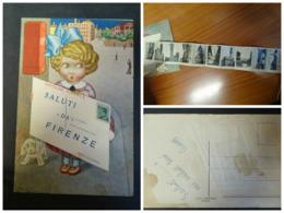 Cartolina Saluti Da Firenze – Cartolina A Taschina - Firenze