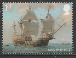 GB 2019 1st ROYAL NAVY SHIPS Mary Rose  ** MNH - 1952-.... (Elizabeth II)