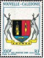 "Nle-Caledonie YT 573 "" Armoiries "" 1989 Neuf** - Nouvelle-Calédonie"