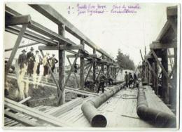 Foto/Grande Photo.  Bruges. Siphon De L'Ecluse Maritime. 21-7-1922. Cie. Intercommunale Bruxelloise Des Eaux. - Lieux
