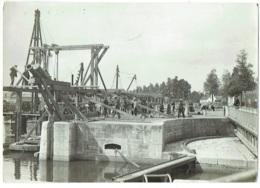 Foto/Grande Photo.  Bruges. Siphon De L'Ecluse Maritime. 21-7-1922. - Lieux