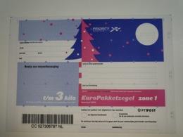 Netherlands EuroPakketzegel December 1998 Upto 3 Kg Not Used  Euro Pakketzegel - Interi Postali